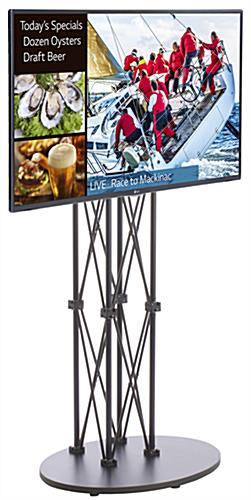 Digital Signage with Stand for Retail Environments