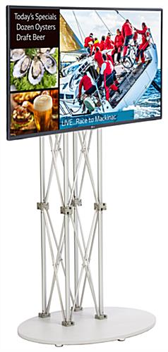 Silver All-In-One Digital Sign