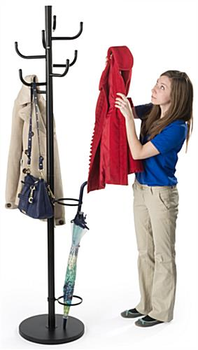Weighted Commercial Coat Racks