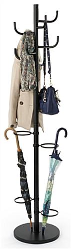 Black Coat Rack Umbrella Stand