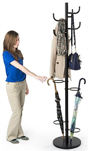 Weighted Coat Rack Umbrella Stand