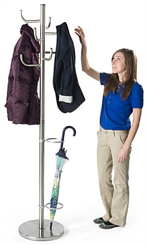 Weighted Umbrella Coat Stand