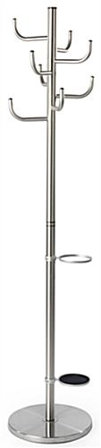 Stainless Steel Umbrella Coat Stand