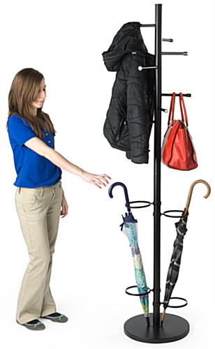 Weighted Coat Umbrella Stand