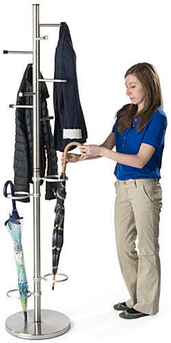 Floor Standing Office Coat Stand