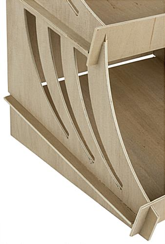 ... for Tabletop, Open Bins, Paint & Stain Receptive - Unfinished Birch