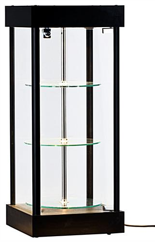 Revolving Display Cabinet for Tabletop