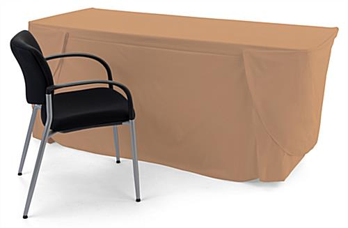 Convertible table cloth is rectangular in shape
