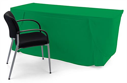 Convertible table cloth with rectangle shape
