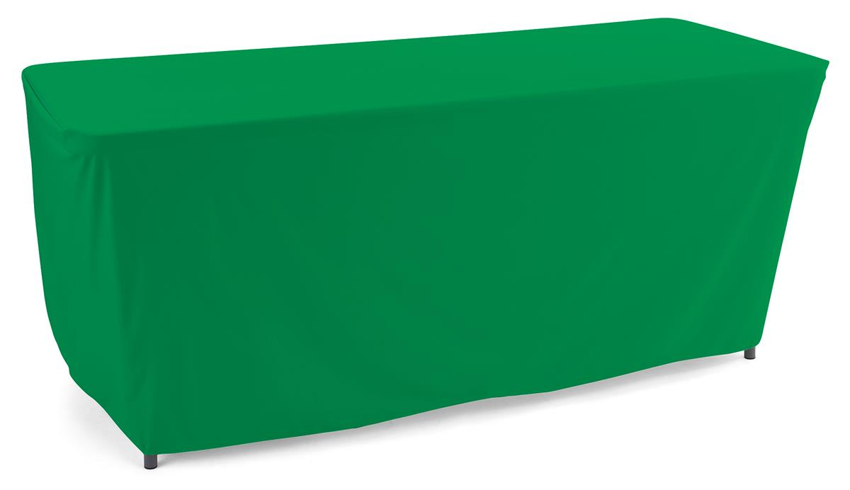 Vibrant kelly green convertible table cloth