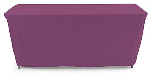 Convertible table cloth with 100 percent polyester material