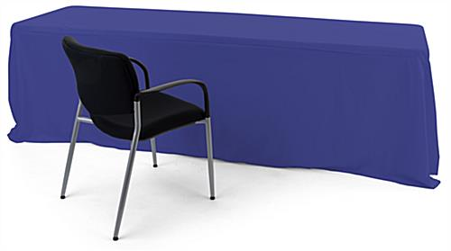 Convertible table cloth fits up to 8 foot surfaces