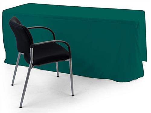 Convertible table cloth with up to 6 foot coverage range
