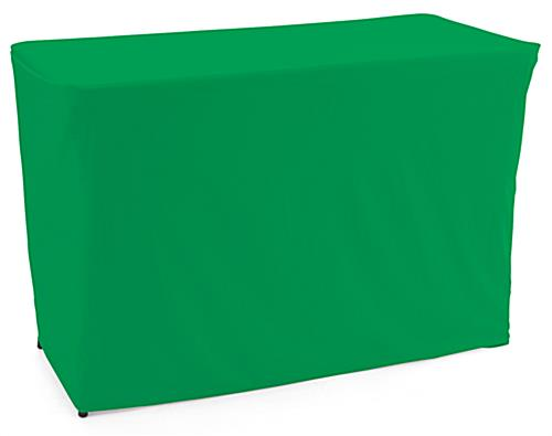 Kelly green convertible table cloth