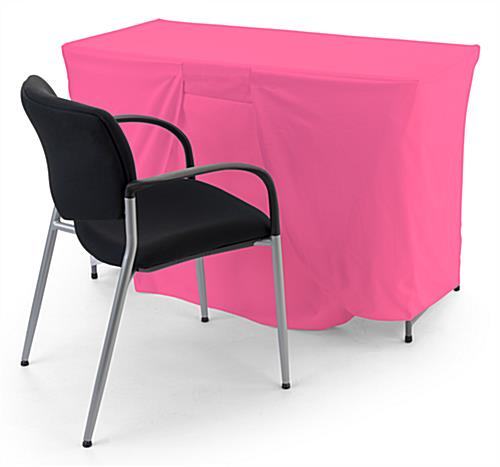 Convertible table cloth is size adjustable coverage