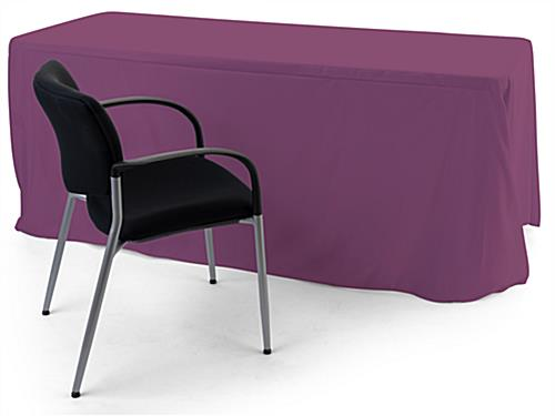 Convertible table cloth with up to 6 foot coverage