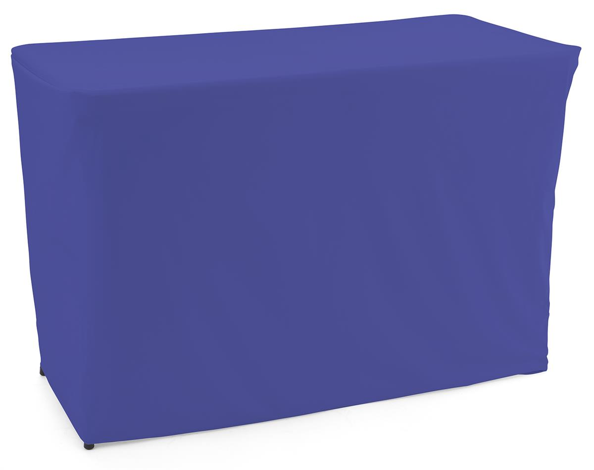 Royal blue convertible table cloth