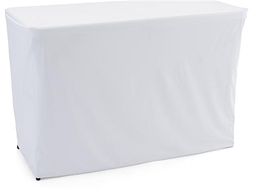 Convertible table cloth with white color