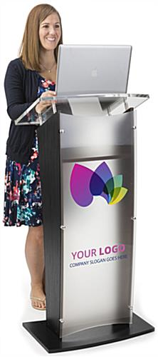 Printed Public Speaking Stand for Universities