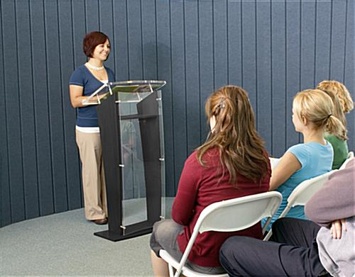 Hardwood Public Speaking Stand