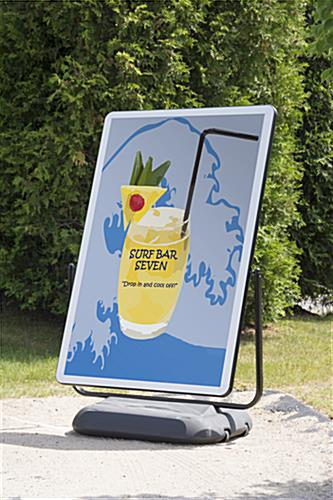 Giant 40 x 60 Forecourt Sign - Fillable Base