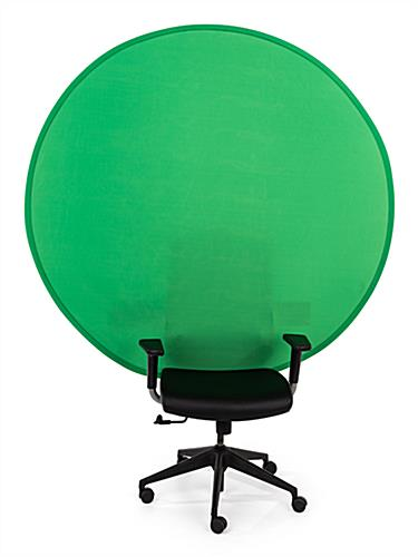 Collapsible Chair Back Green Screen