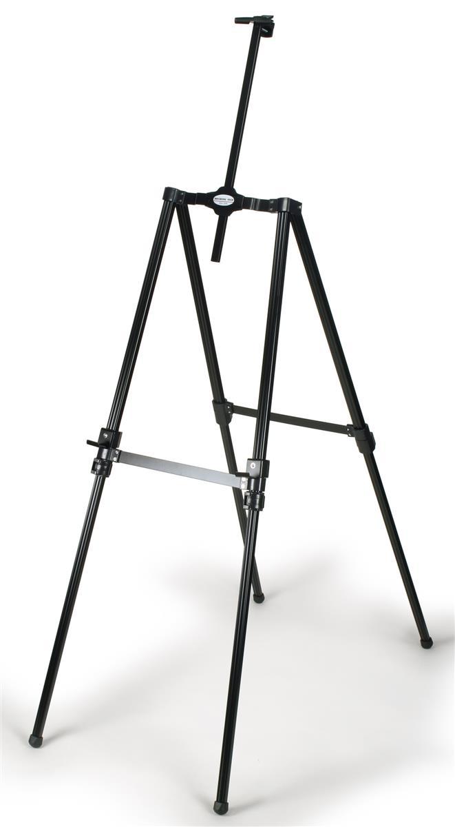 Displays2go Display Easel for Floor, Height Adjustable, w...