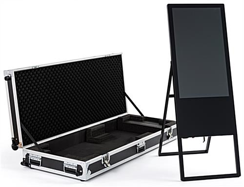 Mobile rolling hard case for DGAFR32 series stand