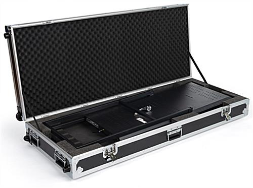 Locking rolling hard case for DGAFR32 series stand