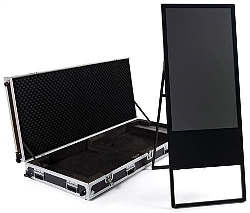 Hinged travel hard case for dgafr43 series stand