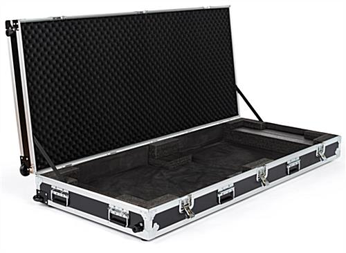 Travel hard case for dgafr43 series stand with hinged design