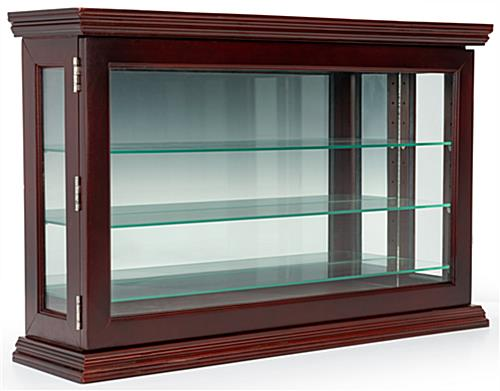 Mirrored curio china display cabinet