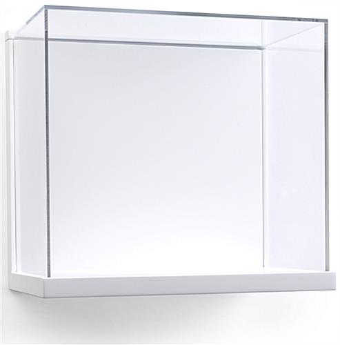 "15.5"" Wide Museum Style Wall Vitrine"