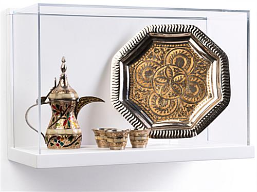 Museum Style Wall Mount Display Box Hanging