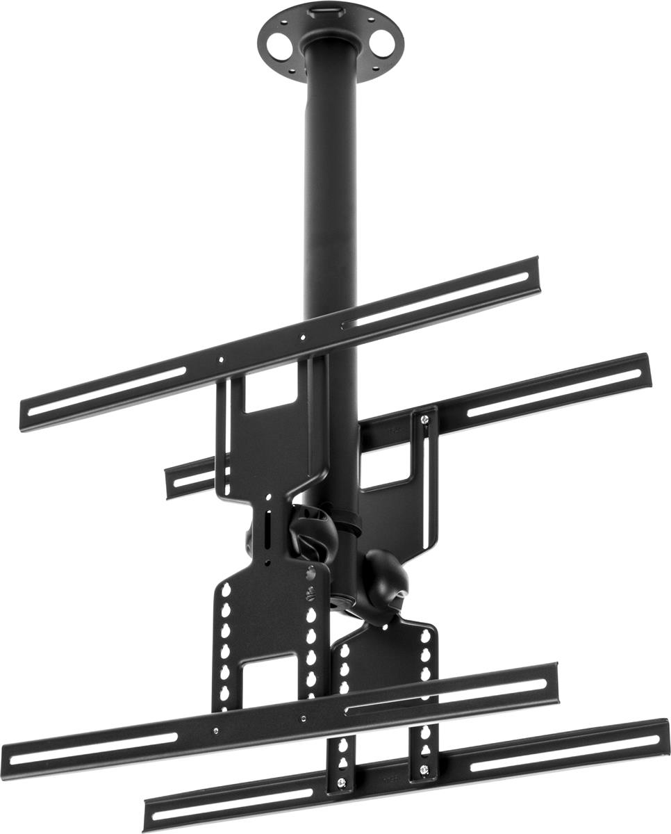 "Displays2go Ceiling TV Mount for 2 Screens 32""-47"", Doubl..."