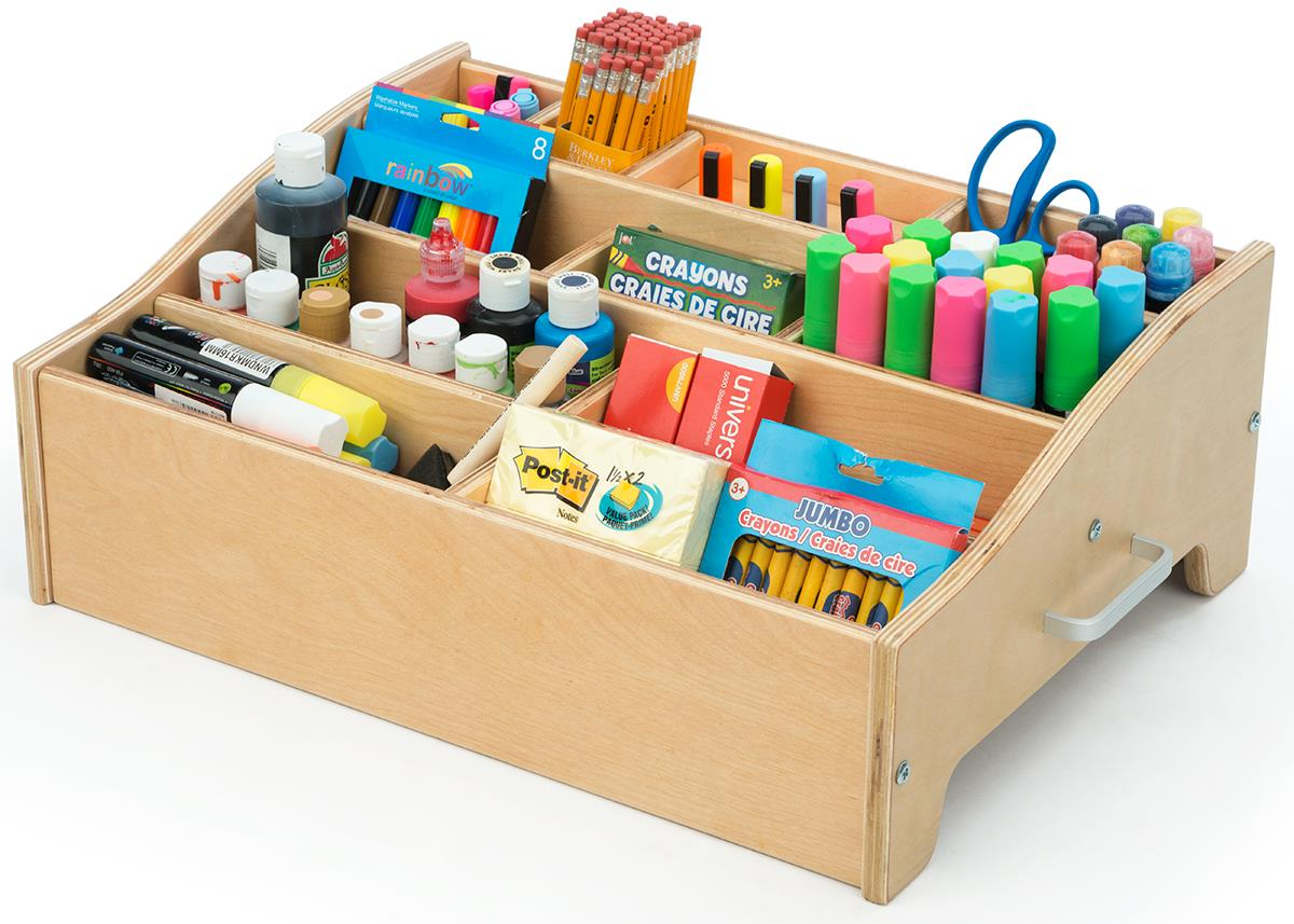 Kids Art Supply Storage Baltic Birch Construction