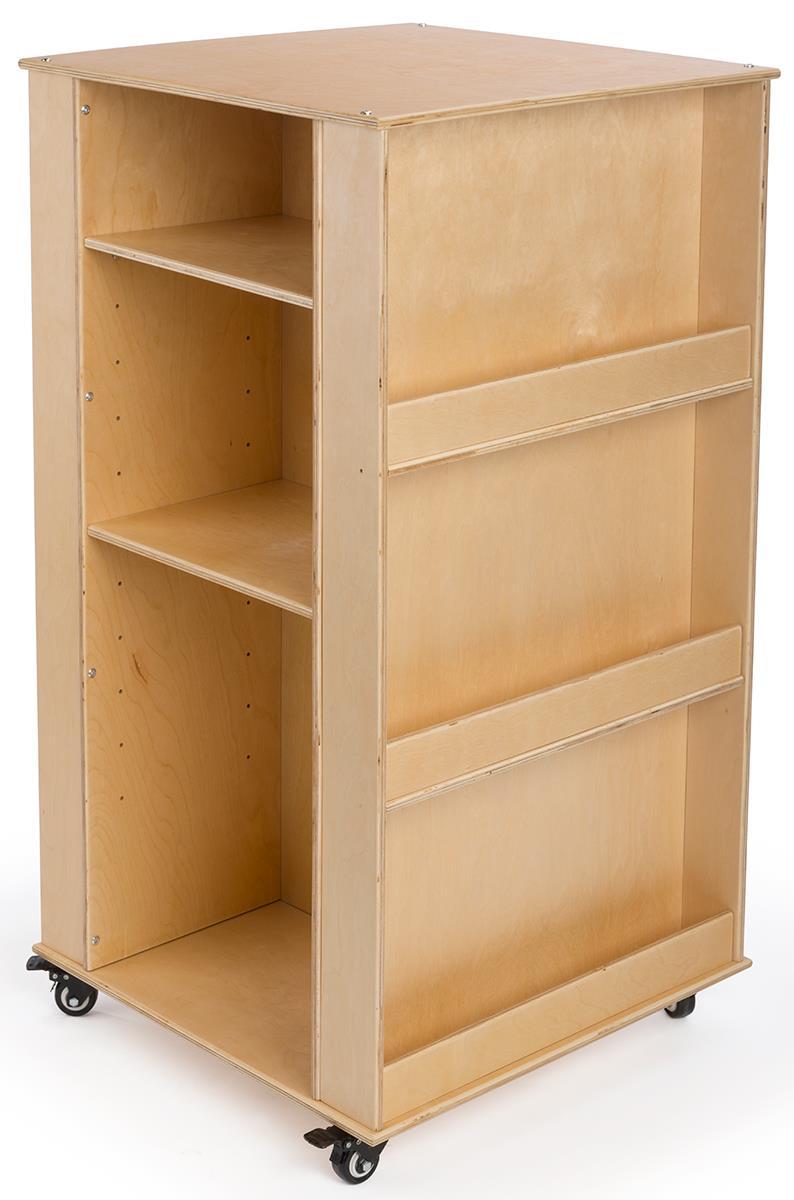 Children S Book Stand Includes Adjustable Shelves