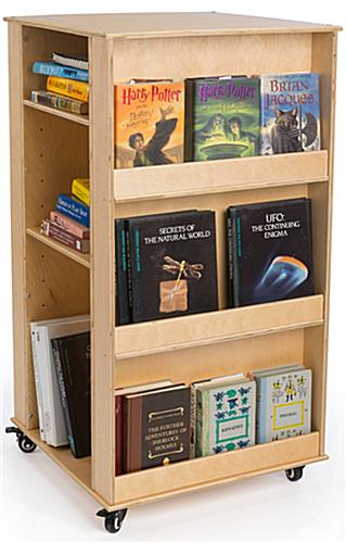 Children's Book Stand with Adjustable Shelves