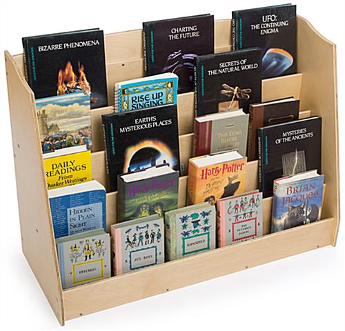 Kid's Book Display with 5 Shelves