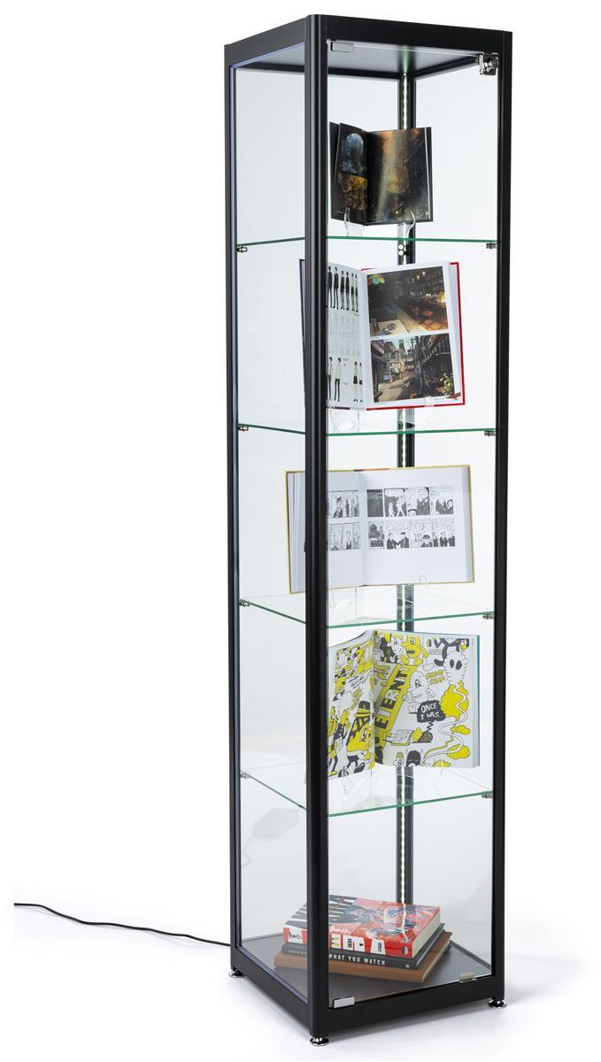 Gl Curio Cabinet Display Tower