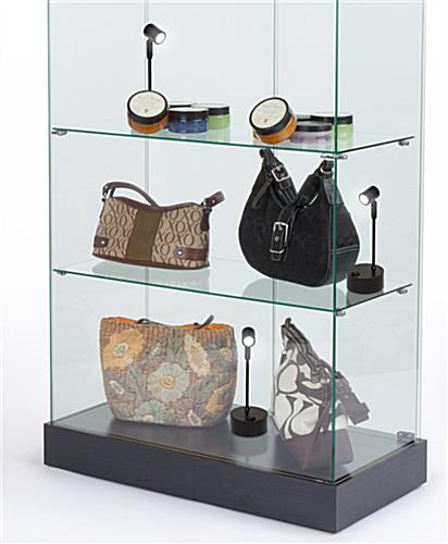 Display case spotlights are the perfect accessory