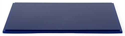 "12"" DCS series blue acrylic square display base .5"" thick"
