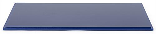 "16"" DCS series blue acrylic display base with 0.5"" thick base"