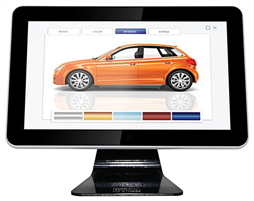 "15.6"" digital touch screen counter top kiosk"