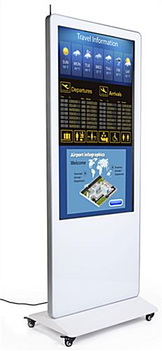 Digital signage display with 1080p HD resolution