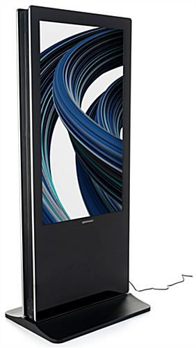Double-sided digital non-touch display with 55-inch screens