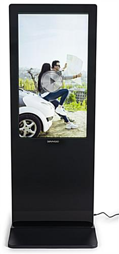 2-Sided touch screen digital poster kiosk with 1080p resolution