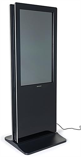 2-Sided touch screen digital poster kiosk with slideshow capabilities
