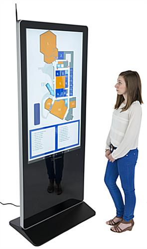"55"" digital display advertising system with user friendly content management system"