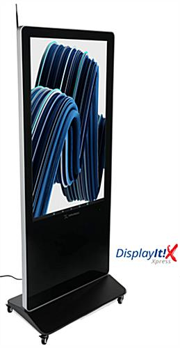 "55"" digital display advertising system with pre-installed DisplayItXpress software"